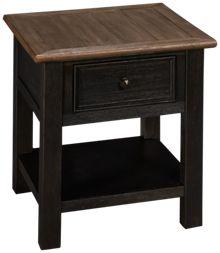 Ashley Tyler Creek Rectangle End Table