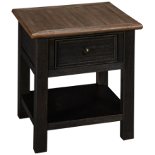 Ashley Tyler Creek Rectangle End Table