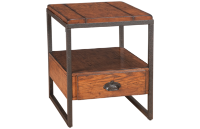 Hammary Baja Rectangular End Table with Storage