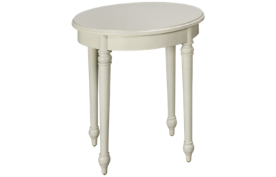 Trade Winds Provence Round Lamp Table