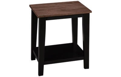 United A La Carte End Table