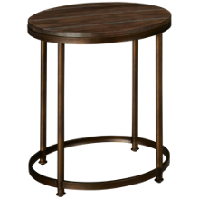 Hammary Leone Round End Table