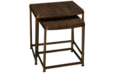 Hammary Leone Rectangle Nesting End Tables