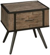 Jofran American Retrospective End Table