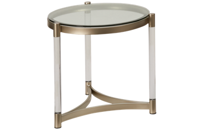 Magnussen Silas Round End Table