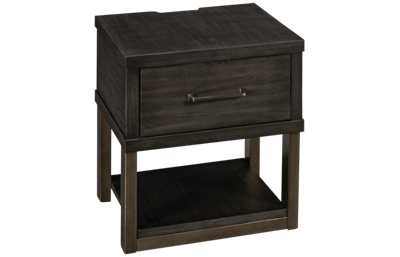 Ashley Forleeza Rectangular End Table with Storage