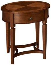 Klaussner Home Furnishings Wentworth Round End Table