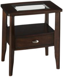 Jofran Montego Merlot End Table