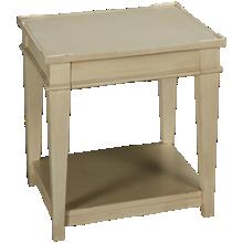 Klaussner Home Furnishings Trisha Yearwood Home Azalea End Table