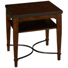 Klaussner Home Furnishings Trisha Yearwood Home Ginkgo End Table