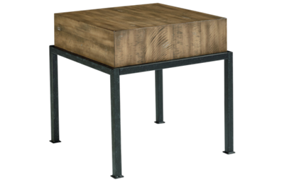 Magnolia Home Butcher Block End Table