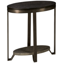 Riverside Jude Oval End Table