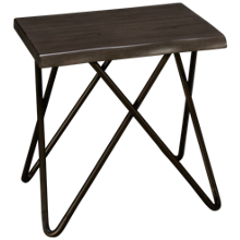 Flexsteel Shadow Square End Table