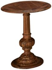 Hekman Wellington Hall Round Chairside Table