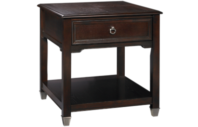 Magnussen Darien Rectangular End Table