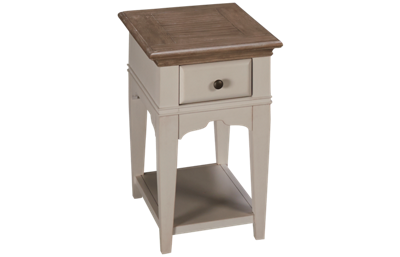 Riverside Myra Chairside Table with Storage