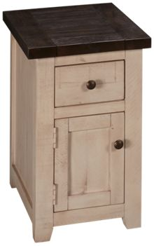 Jofran Madison County Chairside Table