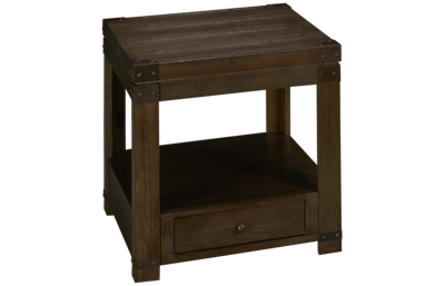 Ashley Burladen Rectangle End Table