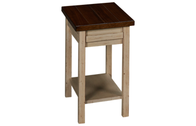 Aspen Modern Farmhouse Chairside Table