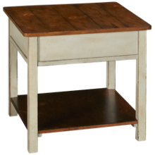 Flexsteel Chateau Square End Table