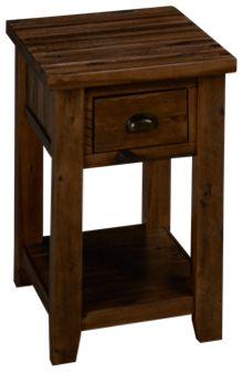 Jofran Artisan's Craft Chairside Table