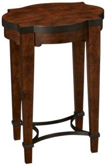 Klaussner Home Furnishings Trisha Yearwood Home Ginkgo Chairside Table