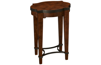 Klaussner Home Furnishings Trisha Yearwood Home Ginkgo Chairside Table