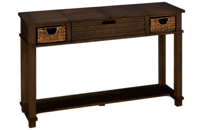 Klaussner Home Furnishings Chambers Sofa Table