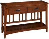 Ashley Cross Island Sofa Table/Console