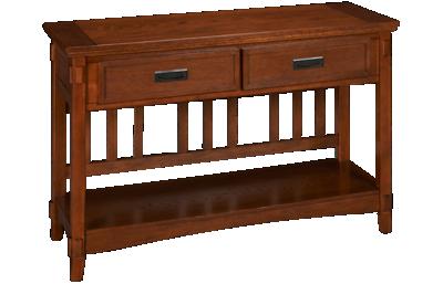 Ashley Cross Island Sofa Table/Console with Storage