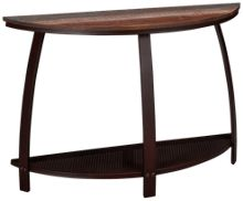 International Furniture Direct Antique Iron Barrel Sofa Table