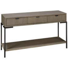 Hekman Sierra Sofa Table With 3 Drawers