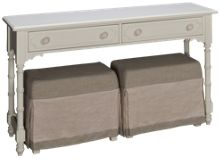 Universal Cottage Console With Benches