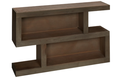 Aspen Contemporary Driftwood S Console Table