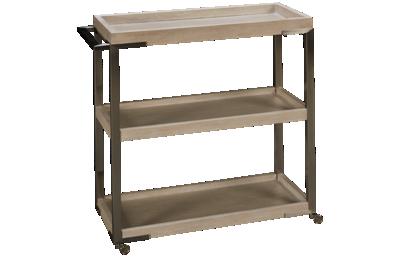 Riverside Lilly Sofa Table Bar Cart