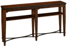 Klaussner Home Furnishings Trisha Yearwood Home Ginkgo Sofa Table