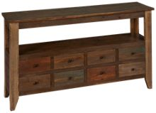 International Furniture Direct Antique Multicolor Sofa Table