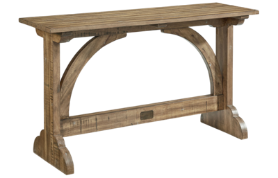Magnolia Home Barrel Vault Console Table