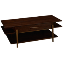 Riverside Dekker Rectangular Cocktail Table