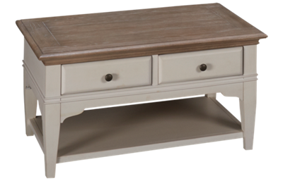Riverside Myra Small Cocktail Table with Storage