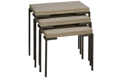 Hekman Sierra Set Of 3 Nesting Tables Set