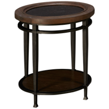 Hammary Austin Round End Table