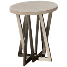 Riverside Lilly Round End Table