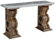 Magnolia Home Double Pedestal Hall Table