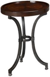 Hammary Barrow Chairside Table
