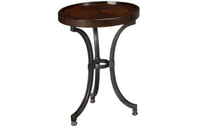 Hammary Barrow Chairside Table