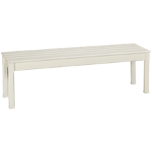 Trade Winds Madison Cottage Planked Bench