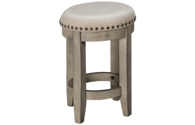 Klaussner Home Furnishings Windmere Round Stool
