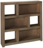 "Aspen Contemporary Driftwood 49"" Display Cube"