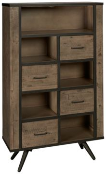 Jofran American Retrospective Bookcase